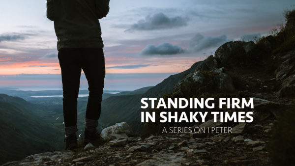 Standing Firm In Shaky Times (Week 9) Image